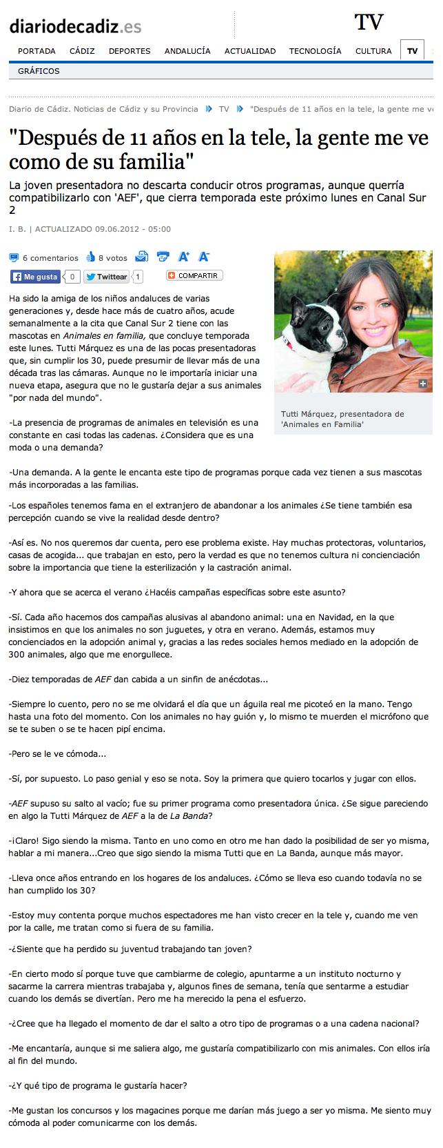 Diario De cadiz tutti marquez