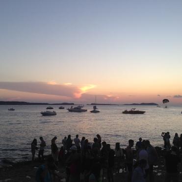Puesta de sol en Café del Mar